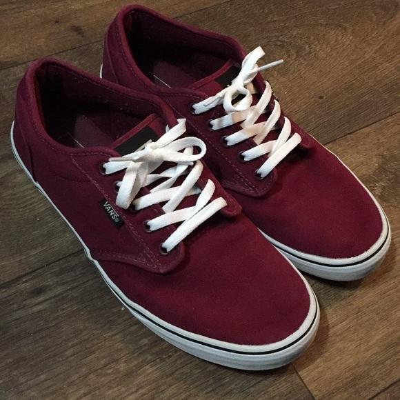 maroon color vans \u003e Clearance shop